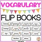 Let's Learn Vocabulary! Flip Books