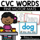 Let's Learn our CVC Words! {play dough mats}