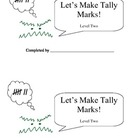 Let's Make Tally Marks: Level 2
