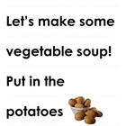 Let&#039;s Make Vegetable Soup! A Literacy Activity