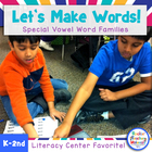 Let's Make Words! Special Word Family Literacy Station Activities