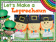 Let&#039;s Make a Leprechaun~ St Patrick&#039;s Day Glyph, Literacy,