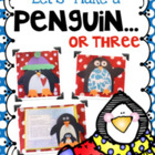 Let&#039;s Make a Penguin...or Three! Art, Glyph, Literacy, and