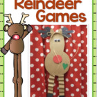Let&#039;s Make a Reindeer! Glyph