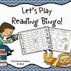 Let's Play Reading Bingo! (Common Core)