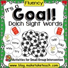 Let&#039;s Play Soccer!  Dolch Sight Word Lists 1-9