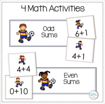 Let's Play Soccer: Literacy and Math Activities
