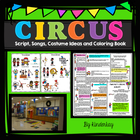 Lets Put on a Circus! Script and Make a Book Pack