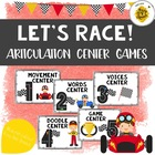 Let's Race Articulation Center Activities