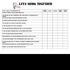 Let&#039;s Work Together Survey