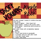 Let&#039;s go to the Apple Orchard - Short Vowel Pack