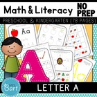 Letter A Activities- 45 Pages! {Common Core}