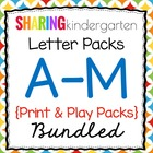 Letter Pack 1 {Aa-Mm}