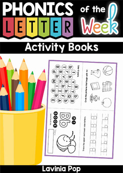 Letter Activity Booklets