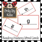 Letter Cards-Supplements for the Reading Mastery Program