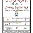 Letter Cc Literacy Station Word Work