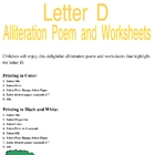 Letter D Alliteration Set