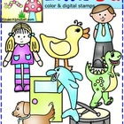 Letter Dd Phonics Clip Art for Teachers