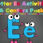 Letter E Activity Pack (CCSS)