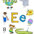 Letter E Activity Packet