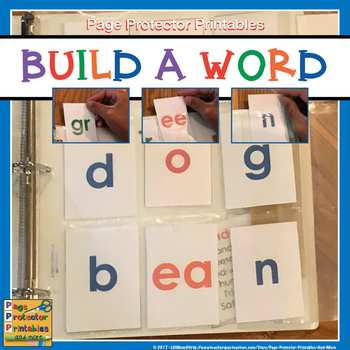 Letter Flashcards: Build A Word