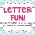 Letter Fun! {Games for teaching & reviewing letter names a