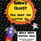 Letter Gg Word Work Literacy Station Pack