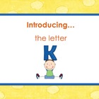 Letter Kk - Alphabet Lesson – Power Point – Interactive –