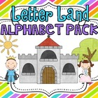 Letter Land Alphabet Pack Polka Dot {Intro to Letters and Sounds}