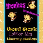 Letter Mm Word Work Literacy Station Pack