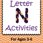 Letter N Activities- 46 Pages! {Common Core}