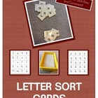 Letter Sort Package for Quick and Easy Sorts