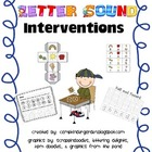Letter Sound Interventions RTI Literacy Pack