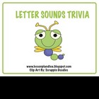 Letter Sounds Trivia-Freebie