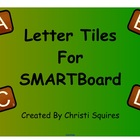Letter Tiles for SMARTBoard Gallery