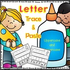 Letter Trace &amp; Paste - Uppercase and Lowercase