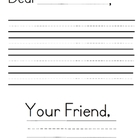 Letter Writing Paper {Freebie}