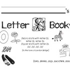 Letter Zz Activities Packet