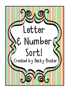 Letter and Number Sort