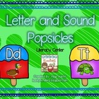 Letter and Sound Popsicles-Literacy Center