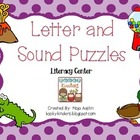 Letter and Sound Puzzles-Literacy Center
