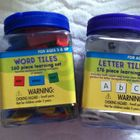 Letter and Word Tiles (price includes both sets)
