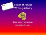 Letter of Advice Writing Activity