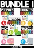 Phonics Letter of the Week BUNDLE 1