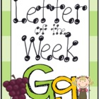 Letter of the Week: Gg