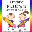 Letter of the Week Picture Dictionary