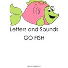 Letter/Sounds, Short Vowel, and Digraph Go Fish