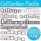 Letterbox Fonts - Graphics From the Pond