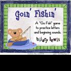 Letters and Sounds - Goin&#039; Fishin&#039; Game