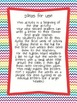Letters to First Grade! A SECOND Grade Back to School Writ